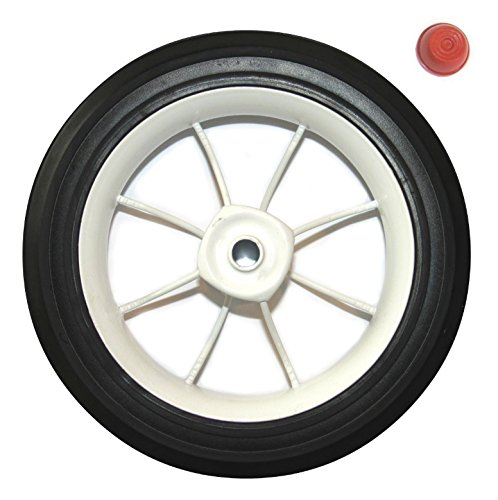 Radio Flyer Rear Wheel/Tire for Pink Classic Tricycle (White Rim) by Radio Flyer
