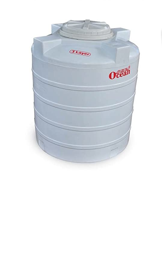 Buy Ocean Water Tank 3 Layer Tanks 1000 Liters White Online At Low Prices In India Amazon In