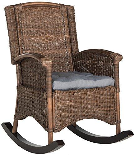 Safavieh Home Collection Verona Brown Rocking (Verona Club Chair)
