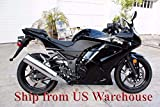 Gloss Black Complete Injection Fairing for 2008-2012 Kawasaki Ninja 250R EX250