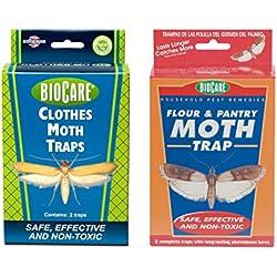 Flour and Pantry Moth Trap & Clothes Moth Trap Jumbo Bundle (S202 & S1524)