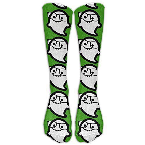 MingDe YY Women & Men Stockings Hi I'm Ghost Sunglass Calf High Socks Athletic Long Socks Classics Crew - I Sunglasses Uk
