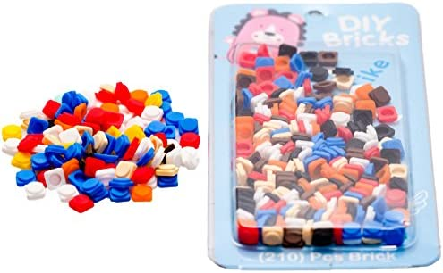 Epic Kids Silicon Bricks Set Box Pixel Art Silicon Chips