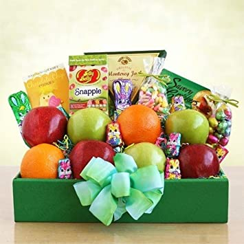 Amazon fresh fruit cheese crackers chocolate and candy fresh fruit cheese crackers chocolate and candy easter basket great gift for negle Image collections