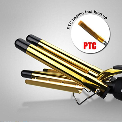 XDGG Ceramics 3 Tubes Multifunction Hair Curler Wave for sale  Delivered anywhere in Canada