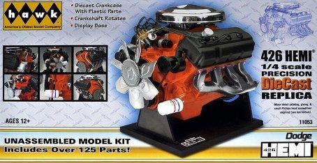 Dodge 426 Hemi Engine - 2
