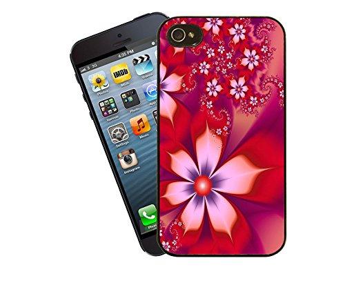 Fleur - 007–Étui pour téléphone portable-Etui pour Apple iPhone 4/4s Modèle-By Eclipse idées cadeaux