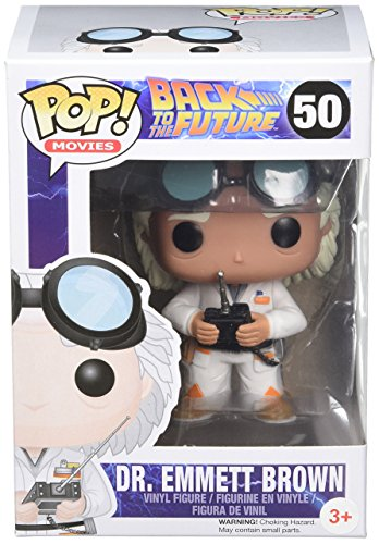 Funko POP Movie Back to The Future Doc Vinyl Figure - Brown Pop