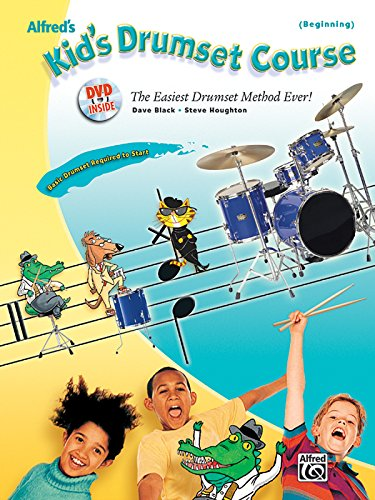Alfred's Kid's Drumset Course (Book & DVD) (Alfred's Kid's Drum Course) - Right To Play Dvd
