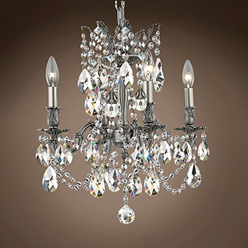 (Joshua Marshal 701578-066 - Traditional Versailles 4 Light 17