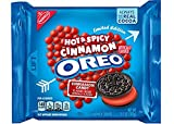 2 pack - Oreo Hot & Spicy Cinnamon Creme Chocolate Sandwich Cookies, 10.7 oz each bag