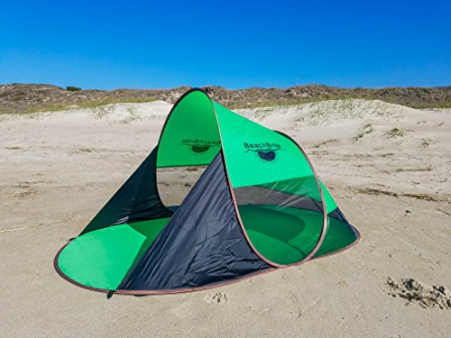 Beach Brite High Quality Instant Pop Up Family Tent by Beach Brite