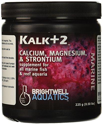 - Brightwell Aquatics ABAKALK225 Kalk Plus 2 Dry Salt Water Conditioners for Aquarium, 7.9-Ounce