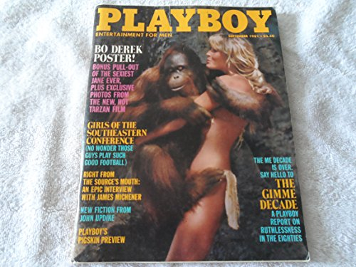- Playboy Magazine, September 1981