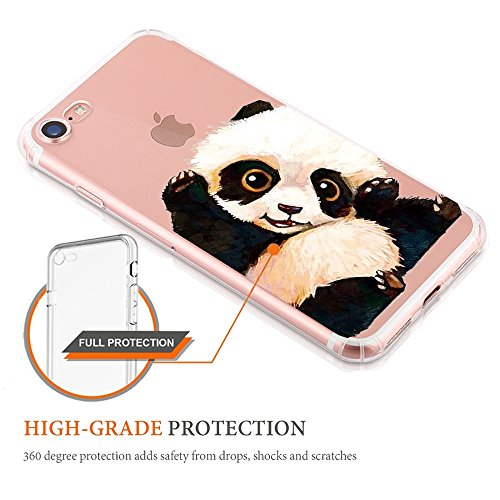 Apple Silicone Custodia Proteggi Cover 7 7 Completa Cristallo Case 8 diamante TPU 8 scintillante Morbida iPhone Trasparente Sottile Copertura Bordo per 3 iphone RttqnrIwU