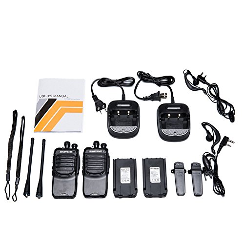 Walkie Talkies with Earpieces Mic and Reachargeble Baofeng BF-888SA (10 Packs) for Adults Trolling Camping Hiking Hunting Travelling 2 Way Radios by BaoFeng (Image #6)
