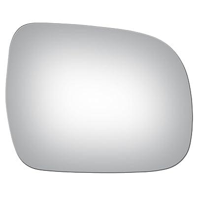 Convex Passenger Side Replacement Mirror Glass compatible with 2004 - 2009 Lexus RX330: Automotive