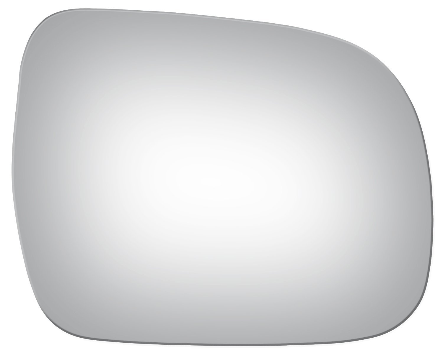 Convex Passenger Side Replacement Mirror Glass