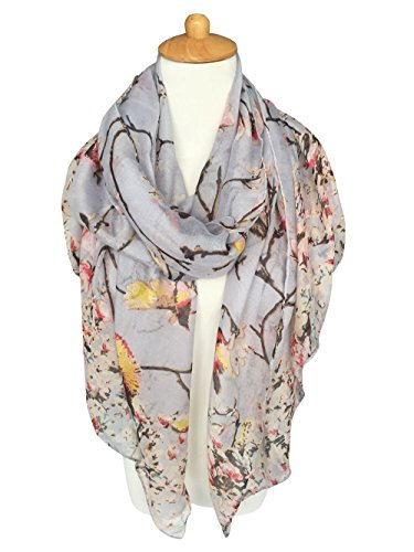 GERINLY-Lightweight-Spring-Birds-Print-Oblong-Scarf