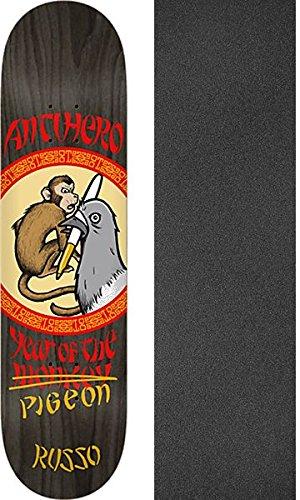 愛撫解く同様のAnti Hero Skateboards Robbie Russo Year of the Pigeonスケートボードデッキ – 8.38
