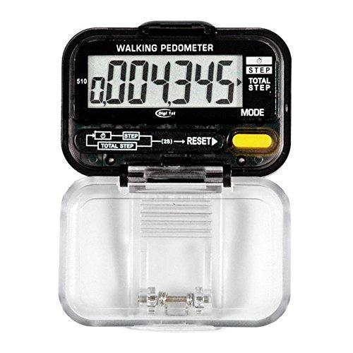 Digi 1st P-510 Dual Step Pedometer with Activity Time (Classic Design) by Digi 1st