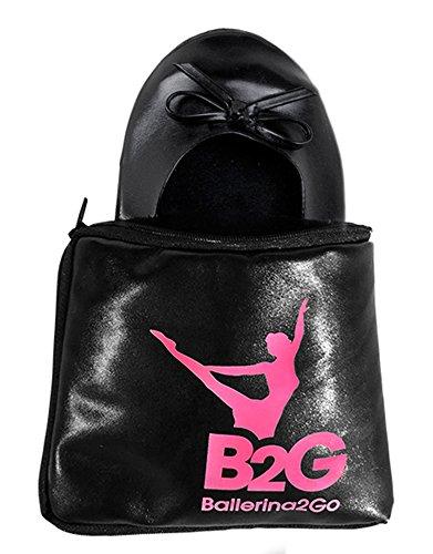 de Ballerina2Go Zapatillas negro Mujer casa 5nTgxrPn