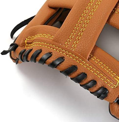 Wonninek Guante de b/éisbol Guantes Deportivos de bateo con Piel sint/ética de b/éisbol Ajustables y c/ómodos 10.5 Pulgadas 11.5 Pulgadas 12.5 Pulgadas Mano Derecha Mano Izquierda