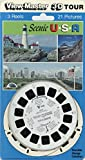 U.S.A Scenic - Classic ViewMaster - 3 Reels - 21 3D images
