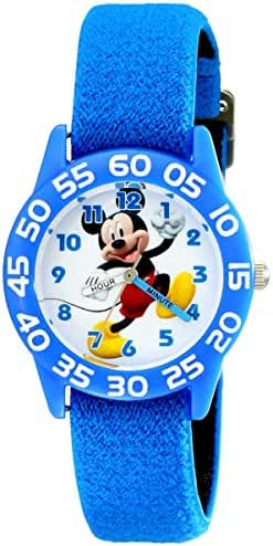 Disney Kids' W001943 Mickey Mouse Analog Blue Watch