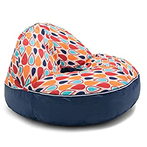 Big Joe Joenut Float Fiesta Geo Drop Bean Bag, Multicolor