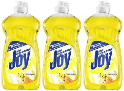 Joy Ultra Dishwashing Liquid, Lemon Scent, 12.6 oz-3 (Joy Dish Soap)