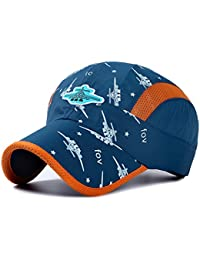 Kids Lightweight Quick Drying Sun Hat Airy Mesh UV...