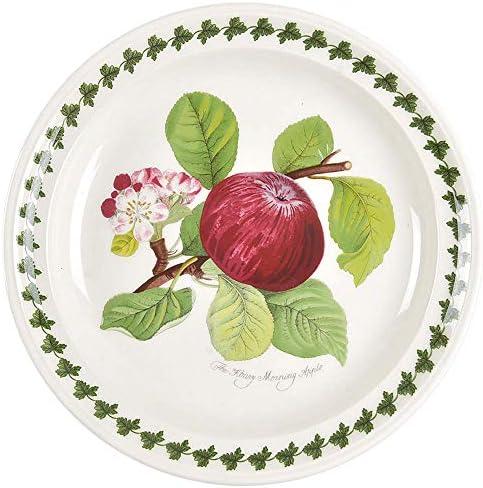 Portmeirion Pomona Rimmed Salad Plate The Hoary Morning Apple New