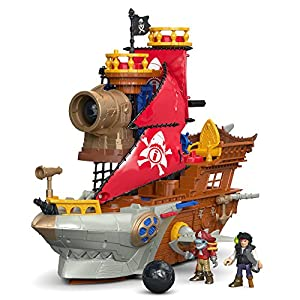 Fisher-Price Imaginext Shark Bite Pirate Ship - 51mbMQRIXyL - Fisher-Price Imaginext Shark Bite Pirate Ship