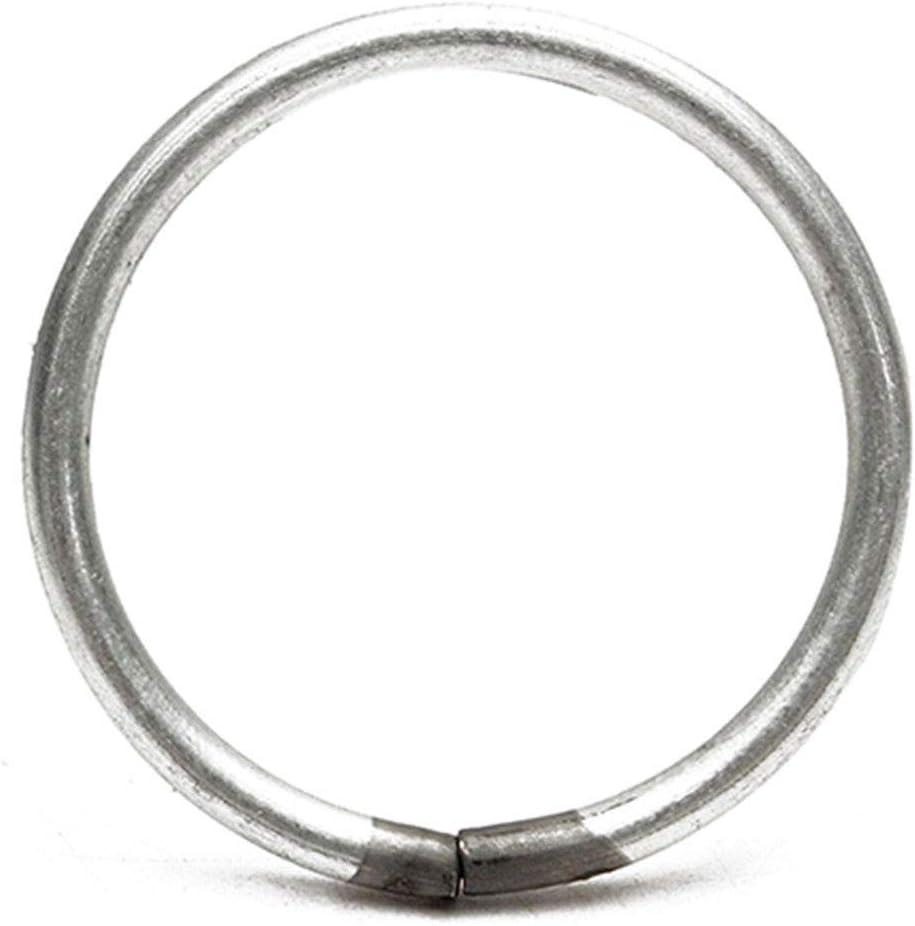 Faderr Anillos de Metal, Aros de Hierro Soldado de Metal para Manualidades, atrapasueños, macramé – 6 tamaños Diferentes, Show, 50 mm