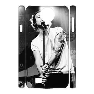 Lycase(TM) Harry Styles Custom Durable Hard Back 3D Plastic Case, DIY Harry Styles SamSung Galaxy S4 I9500 3D Case