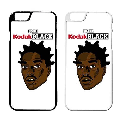 Free Kodak Black 4 IPhone Case Iphone 6 Plus Case or Iphone 6S Plus Black Rubber IB