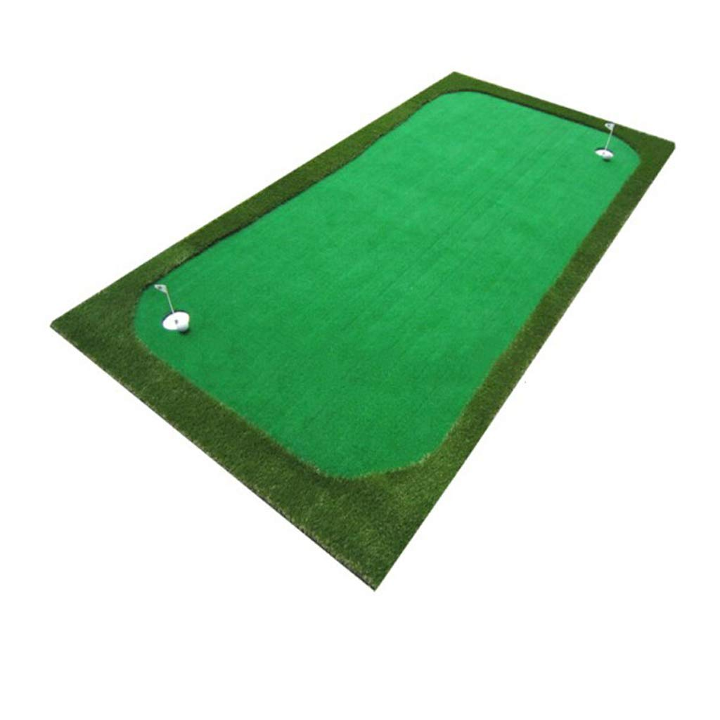 YSDHE ゴルフ人工緑の屋内と屋外パットプラクティスマットポータブルゴルフマット (Size : 100*300cm)  100*300cm