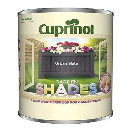 (Cuprinol 5316967 Garden Shades Exterior Woodcare, Urban Slate )