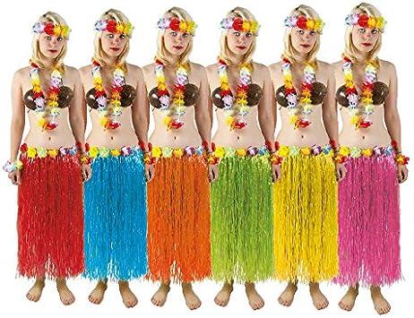 P Tit Payaso – Falda Hawaiana – Cinturón con Flores – Color ...