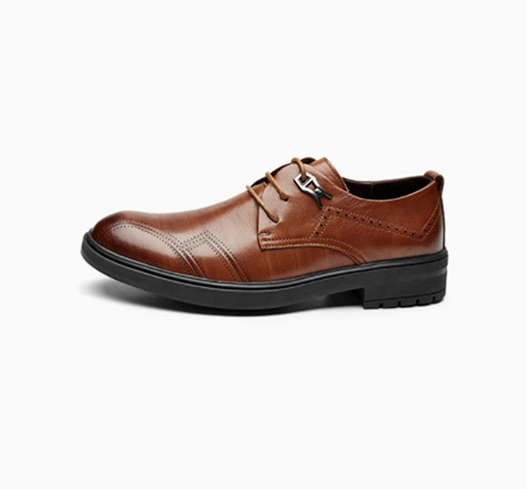 Männer Geschäft Wild Leder Schuhe Casual Mode Kleid Schuhe Arbeit Wild Geschäft 3d515a
