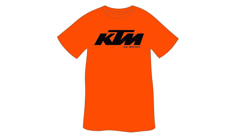 KTM Juego: - Camiseta/Polo - Negro - Naranja - Logo Print + Llave ...