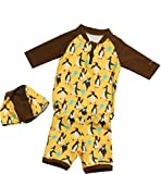 Kinderspel Baby and Toddler Swim Suit. Boutique Quality Swimming Suit for Pool, Beach. Fashion Swim suits in Fun Colorful Patterns. (Medium, Melina Alvin)