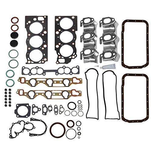 (Vincos Full Gasket Kit CS9728 Replacement For Toyota V6 3.0L 3VZE 3VZ-E 1988-1995)