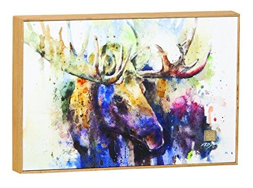 Demdaco Big Sky Carver Marsh Bull Moose Wall Art (B5050140) -
