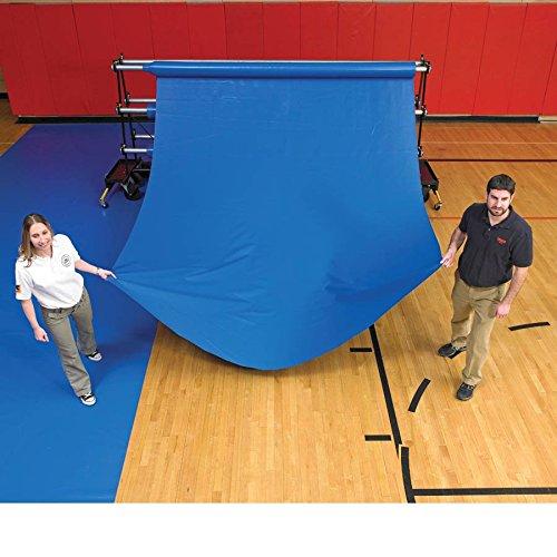 Ssn 1375309 27 oz Pre-Cut Gym Floor Cover44; Tan