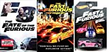 Fast Cars Big Explosions Bundle: The Fate Of The Furious + The Fast and Furious Tokyo Drift (2 DVDs) & Hot Wheels Honda S200 Fast & Furious 1/6 1:64 Scale Pink W/ White Graphics FAST FIVE 2 Fast