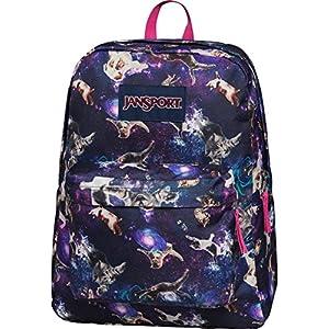 Jansport Superbreak School Backpack - Multi Astro Kitty - One Size
