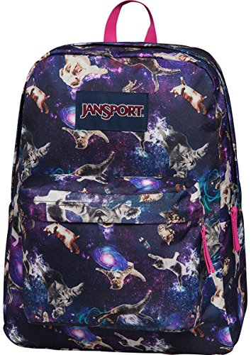 2017 Back-to-School Popular Backpacks Teens & Tweens - Jansport Superbreak School Backpack - Multi Astro Kitty - One Size