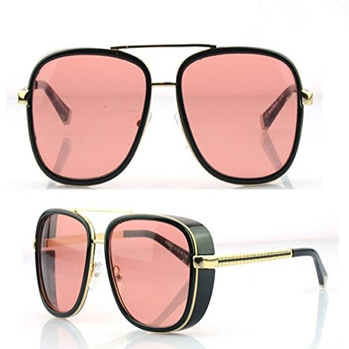 2cd659f4e5 NEW M3023 Iron Man Downey Same Style Retro Women Men Sunglasses (Red) - Buy  Online in UAE.